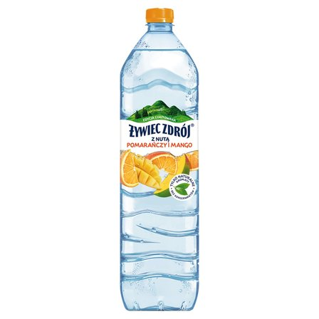 ŻYWIEC ZDRÓJ Napój niegazowany z nutą pomarańczy i mango (1)