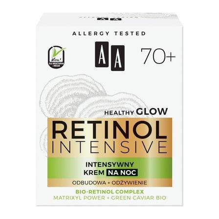 AA Retinol Intensive 70+ intensywny krem na noc odbudowa+odżywienie (2)