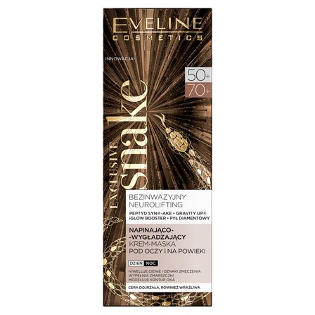 EVELINE Exclusive Snake 50+/70+ Krem-maska pod oczy i na powieki (1)