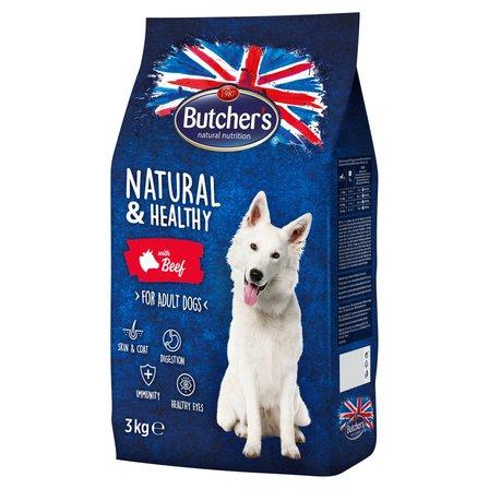 BUTCHER'S Natural & Healthy Karma dla dorosłych psów z wołowiną (1)
