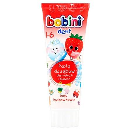 BOBINI Dent Pasta do zębów lody truskawkowe 1-6 (1)