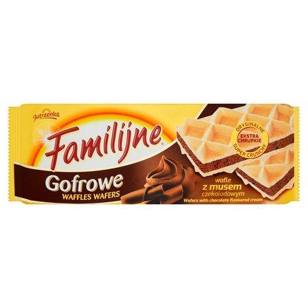 FAMILIJNE Gofrowe wafle z musem czekoladowym (2)