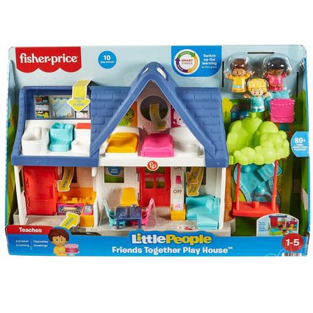 FISHER-PRICE Little People Wesoły domek Małego Odkrywcy (1-5 lat) HCJ65 (2)
