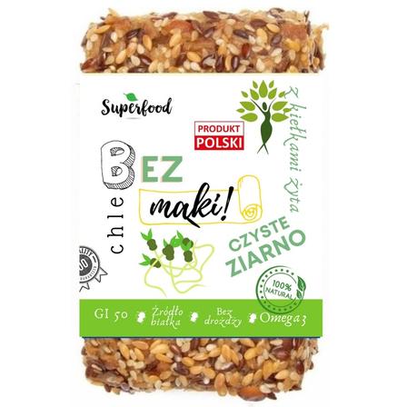 HERBA MAX Chleb bez mąki czyste ziarno z kiełkami żyta (1)