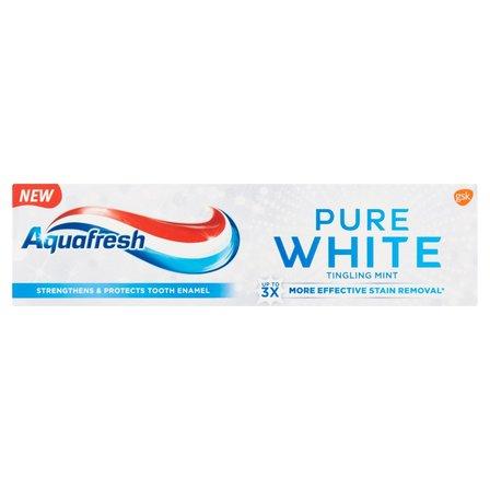 AQUAFRESH Pure White Tingling Mint Pasta do zębów z fluorkiem (2)