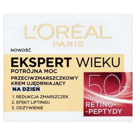 L'Oréal Paris Ekspert Wieku 50+ Przeciwzmarszczkowy krem ujędrniający na dzień (3)