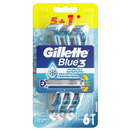 GILLETTE Blue3 Cool Jednorazowa maszynka do golenia dla mężczyzn (1)