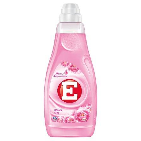 E Skoncentrowany płyn do zmiękczania tkanin różana łąka (66 prań) (1)
