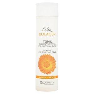 CELIA Kolagen Tonik do oczyszczania i odświeżania skóry (1)