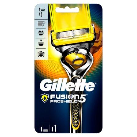 GILLETTE Fusion ProShield Maszynka do golenia dla mężczyzn z technologią Flexball (1)