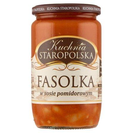 KUCHNIA STAROPOLSKA Fasolka w sosie pomidorowym (2)