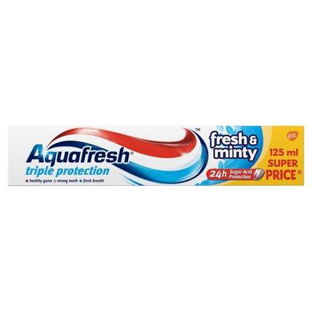 AQUAFRESH Triple Protection Fresh & Minty Pasta do zębów (3)