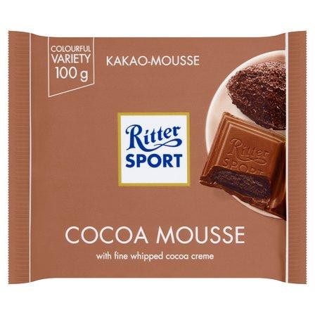 RITTER SPORT Czekolada mleczna nadziewana kremem kakaowym (1)