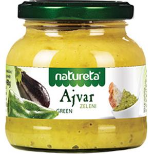 NATURETA Ajvar Green Pasta z zielonej papryki (1)
