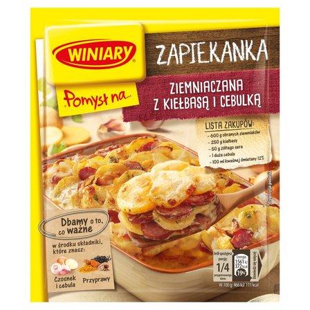 WINIARY Pomysł na... Zapiekankę ziemniaczaną z kiełbasą i cebulką (1)