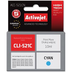 ACTIVEJET ACC-521CN Tusz do drukarki Canon zastępuje tusz Canon CLI-521C niebieski (1)