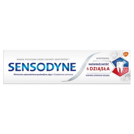 SENSODYNE Nadwrażliwość & Dziąsła Whitening Pasta do zębów z fluorkiem (4)
