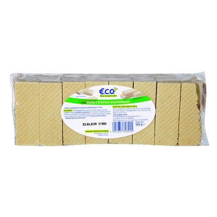ECO+ Wafle z kremem arachidowym (1)