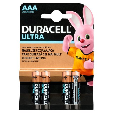 DURACELL Ultra AAA 1,5 V/B Bateria alkaliczna (1)