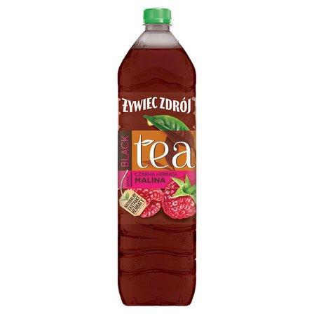 ŻYWIEC ZDRÓJ Black Tea Napój niegazowany czarna herbata malina (1)