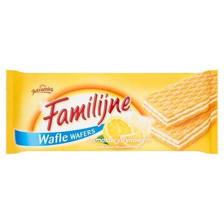 FAMILIJNE Wafle o smaku cytrynowym (1)