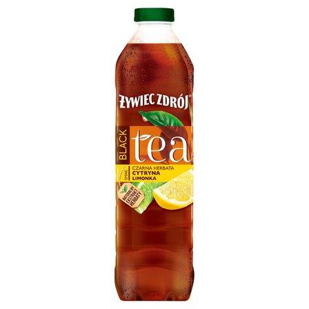 ŻYWIEC ZDRÓJ Black Tea Napój niegazowany czarna herbata cytryna limonka (1)