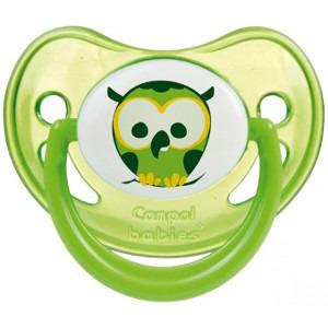 CANPOL BABIES Smoczek silikonowy świecący 18m+ (2)