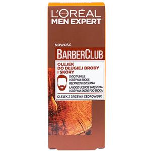 L'OREAL Barber Club Olejek do długiej brody i skóry (1)