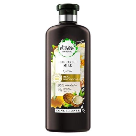 HERBAL ESSENCES bio:renew Odżywkadowłosów nawilżająca z mlekiem kokosowym (1)