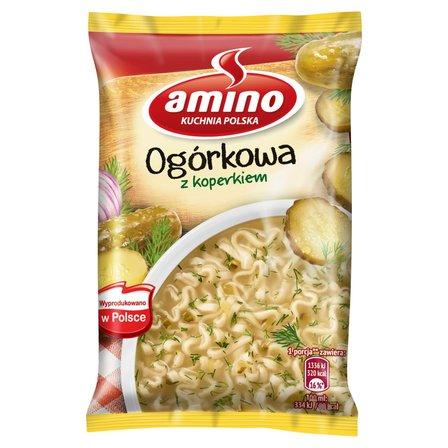 AMINO Zupa błyskawiczna ogórkowa z koperkiem (1)