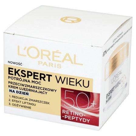 L'Oréal Paris Ekspert Wieku 50+ Przeciwzmarszczkowy krem ujędrniający na dzień (1)