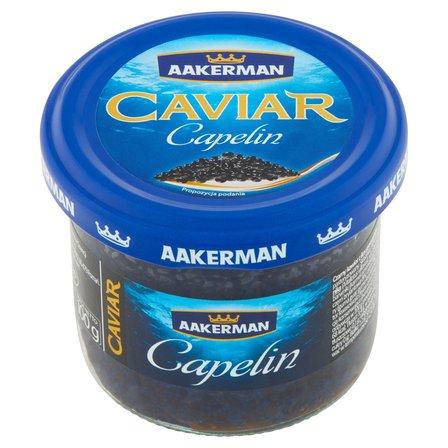 AAKERMAN Caviar Kawior czarny Capelin (1)