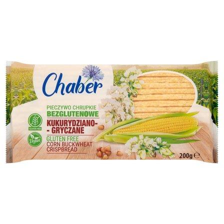 CHABER Pieczywo chrupkie bezglutenowe kukurydziano-gryczane (1)