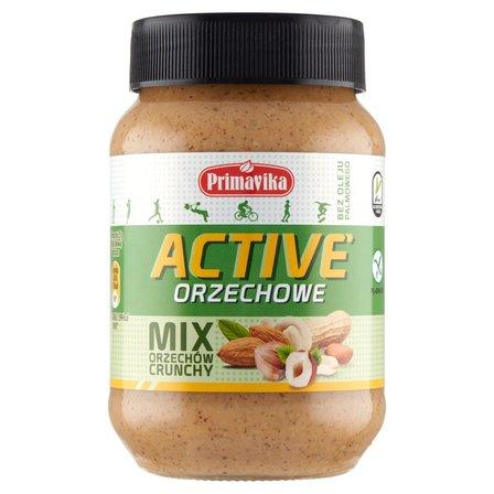 PRIMAVIKA Masło orzechowe active mix orzechów crunchy (2)