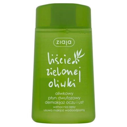 ZIAJA Liście zielonej oliwki Oliwkowy płyn dwufazowy demakijaż oczu i ust (1)
