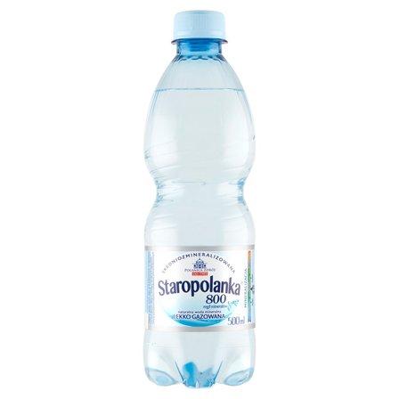STAROPOLANKA 800 Naturalna woda mineralna średniozmineralizowana lekko gazowana (1)
