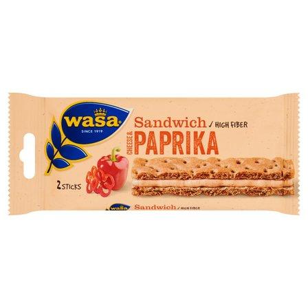 WASA Sandwich Cheese & Paprika Kanapka (2 sztuki) (1)