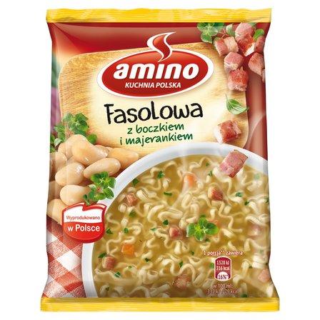 AMINO Zupa błyskawiczna fasolowa z boczkiem i majerankiem (1)