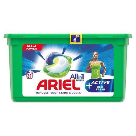 ARIEL Allin1 Pods +Active Odor Defense Kapsułki do prania (1)