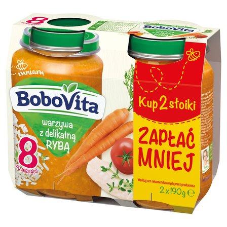 BoboVita Warzywa z delikatną rybą po 8 m-cu (2 szt.) (1)