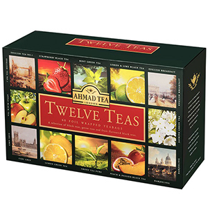 AHMAD TEA Twelve Teas Zestaw herbat (60 tb.) (1)