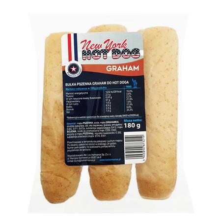 LOS HERMANOS New York Hot Dog graham (3 szt.) (1)