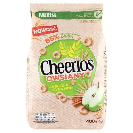 CHEERIOS Owsiany Płatki śniadaniowe jabłko & cynamon (1)