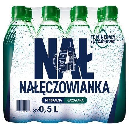 NAŁĘCZOWIANKA Naturalna woda mineralna gazowana (8 x 500ml) (1)