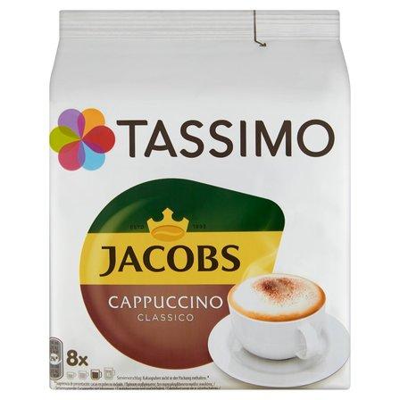 TASSIMO Jacobs Cappuccino Classico Kawa mielona (8 kaps.) i mleko (8 kaps.) (2)