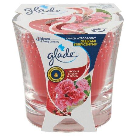 GLADE Luscious Cherry & Peony Świeca (1)