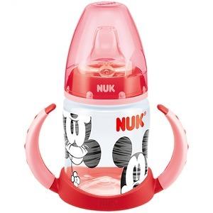 NUK First Choice Butelka z podwójnym uchwytem 150 ml Myszka Miki czerwony (1)