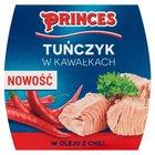 PRINCES Tuńczyk w kawałkach w oleju z chili (2)