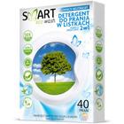 SMART ECO WASH Listki do prania 2w1 bezzapachowe (40 prań) (1)