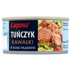 LAGUNA Tuńczyk kawałki w sosie własnym (2)